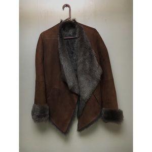 Like New Donna Karan Fur Coat
